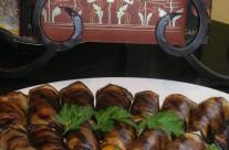 VEGETARIAN VEGAN MONDAYS – Eggplant Roulade with Balsamic Vinaigrette