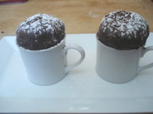 Chocolate Cake in Demi Tasse 0010