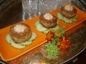Crabcakes with Chipotle Remoulade